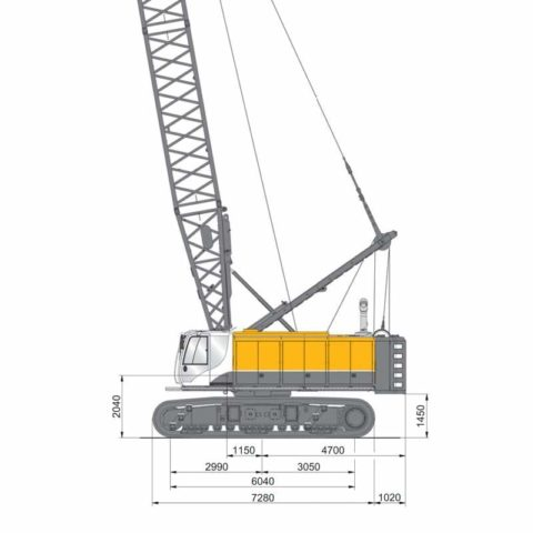 Mc 96 Duty Cycle Crane
