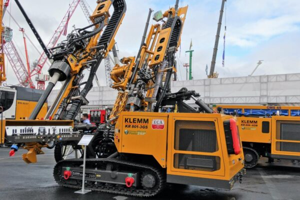 R 801-3GS anchor and micropile drilling rig