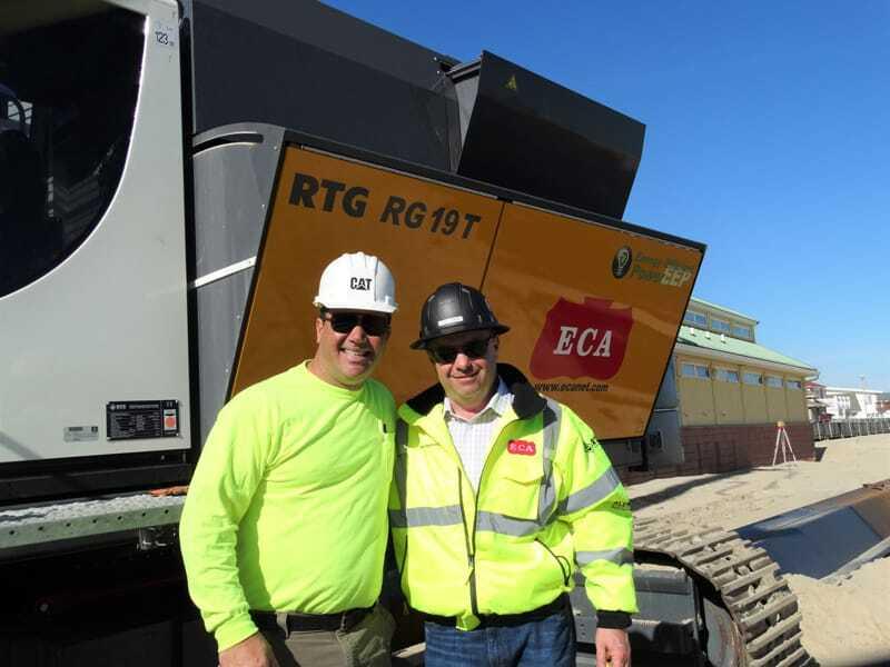 Jason Burke and Steve Sigmund (ECA)